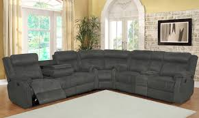 Black Sectional Living Room Ideas by Sofas Magnificent Reclining Sectional With Chaise Leather