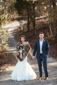 Rustic Wedding Chic Blogger Fur Coat Mens Suit Menswear Country Dress Mermaid