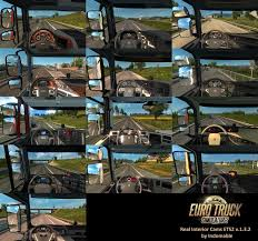 REAL INTERIOR CAMS ETS2 V1.3.2 | ETS2 Mods | Euro Truck Simulator 2 ...