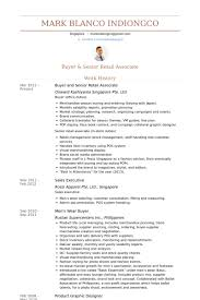 Retail Associate Resume Samples Visualcv For Buyer
