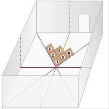 superbe pose de carrelage en diagonale 10 poser du linol233um