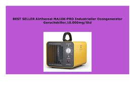 big sale airthereal ma10k pro industrieller ozongenerator