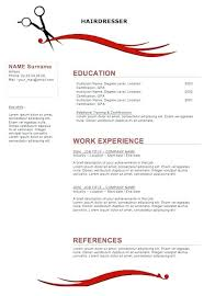 Beautician Resume Sample Resumes For Hairstylist Cosmetologist Hairdresser Doc