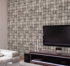 vliestapete steinoptik mosaik muster