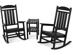 Presidential 3-Piece Rocking Chair Set PWS138-1-BL