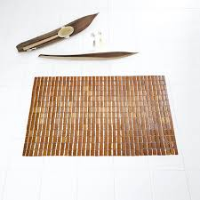ridder wc vorleger aus holz bamboo natur 90 cm x 60 cm
