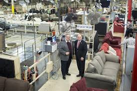 Ron Wanek Left The Founder Of Ashley Furniture Industries And His Son