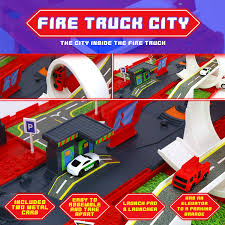100 Fire Truck Parking Games Amazoncom Big Mos Toys Truck Playset And Playset