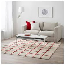 simested langflor teppich ikea mit karomuster