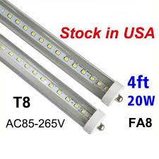 stock in us led lights 4ft t8 led cooler lights 20w