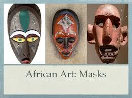 African Art Masks Western