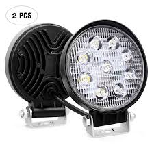 100 Truck Spot Light Amazoncom Led Bar Nilight 2PCS 45 27w 3000LM Round