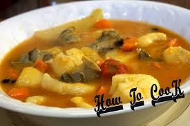 Jamaican Pumpkin Soup Vegan by The Best Jamaican Conch Clam Scallop Seafood Soup Mix Recipe