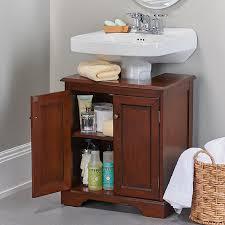 Pedestal Sink Organizer Ikea by 42 Bathroom Storage Hacks That U0027ll Help You Get Ready Faster