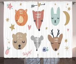 gardine schlafzimmer kräuselband vorhang mit schlaufen und haken abakuhaus kindergarten scandinavian tiere kaufen otto