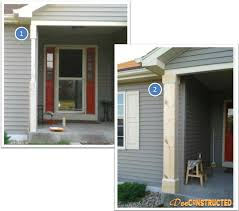 Columns On Front Porch by Quick Curb Appeal
