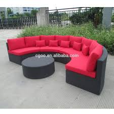 Curved Settee for Round Dining Table Best Od Round Rattan Wicker