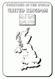 United Kingdom Coloring Pages British History
