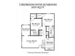 Sunroom Plans Photo by 2 Bed 2 Bath Apartment In Winston Salem Nc Alaris