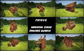 minecraft siege psykoschlumpf s siege engines bundle minecraft project