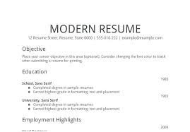 General Resume Objective Examples 2017