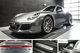 Performance Upgrade Porsche 991 Carrera 4 GTS 3.0 Turbo