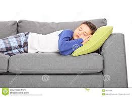 little boy in pajamas sleeping stock vector image 62786098