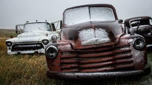 100 Rusty Trucks Wallpaper Old Red Snow Wet Trucks Vintage Car Rusty South