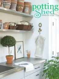 100 Shed Interior Design Tone On Tone Garden My Potting