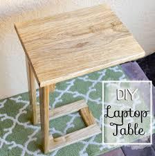 diy laptop table pinteres