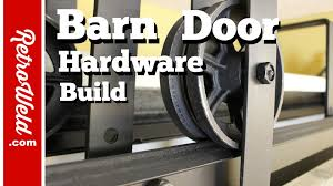 🔴 Barn Door Hardware Build - YouTube Sliding Barn Door To Mud Room Diy Blogger House At Daybreak By Epbot Make Your Own Sliding Barn Door For Cheap Doors Youtube Track Find It Love Let Us Show You The Hdware Do Or Interior Kit Ideas Home Design Diy Designers Septic Make Your Own Hdware Asusparapc Made A Track For Salvaged Library With Electrical Conduit