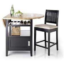 belmont black high dining table crate and barrel polyvore
