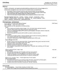Medical Account Manager Resume Sample