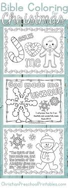 Christmas Bible Coloring Pages A Great Set Of Free Christian And Verse