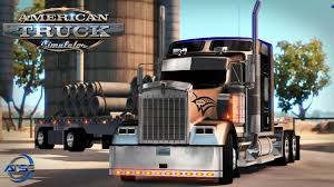 100 Redding Truck And Auto American Simulator Tribal Kenworth W900 With Fontaine Flatbed