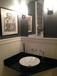 Best Paint Color For Bathroom Cabinets by Best Powder Room Paint Colors 2016 Color For Windowless