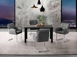 places of style esstisch utah gestell aus metall tischplatte in betonoptik