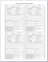 100 Truck Inspection Checklist Straight Pre Trip Form Form Resume