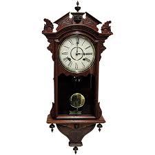 Waterbury Antique Wall Clock  Original and Fully Restored