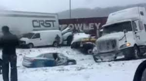 100 Crst Trucking School Locations All I74 Lanes Open After Massive 40car Pileup