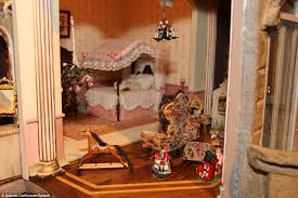 The Hand Made Astolat Dollhouse Castle Was Built Over A 13 Year
