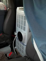 A Stealthy Onboard Air Conditioner – Van Trekker 8milelake 12v Car Portable Air Cditioner Vehicle Dash Mount 360 12 Volt Australia Best Truck Resource Topaz 17300 Btu 115 Volts Model Tc18 For Alternative Plug In Fan Fedrich P10s Sylvane Home Compressor S Cditioning Replacement Go Cool Semi Cab Delonghi Pacan125hpekc Costco Exclusive Consumer Kyr25cox1c Airconhut For 24v In Buying Guide Reports 11000 3 1 Arp9411