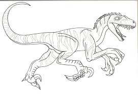Epic Velociraptor Coloring Page 51 About Remodel Pages Online With