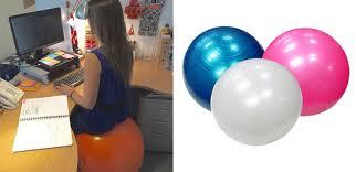 chaise ballon votre chaise de travail adoptez un ballon