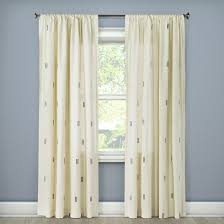Nate Berkus Herringbone Curtains by Embroidered Curtains Target