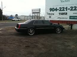 2007 Cadillac DTS on 22inch rims