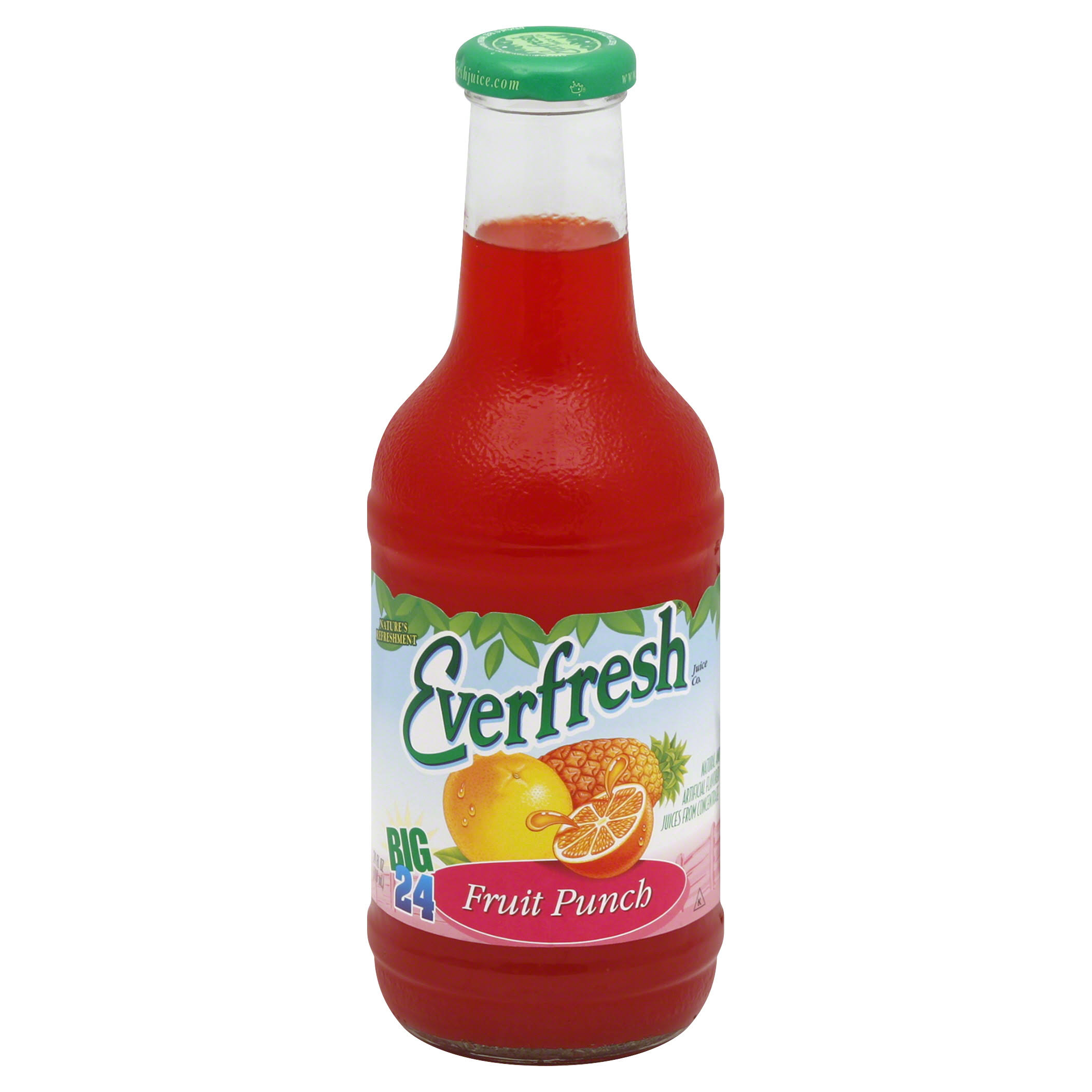 Everfresh Juices from Concentrate, Fruit Punch - 24 fl oz