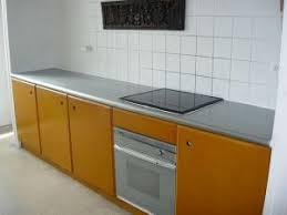 plaque de zinc pour cuisine plan de travail en zinc cuisine avec intégration