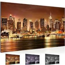 leinwand bilder new york city wandbilder fürs wohnzimmer