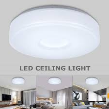 1000LM 12W LED Round Ceiling Down Light Flush Mount Fixture Lamp For Home Kitchen Bedroom Living Room Dining Hall Lighting,27cm27cm
